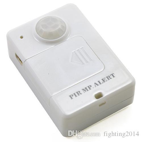 Sensor infrarrojo Inalámbrico GSM Sistema de alarma Alarma antirrobo PIR MP. Alerta A9 Detección de movimiento GSM Cuatribanda control remoto Mini dispositivo de alarma