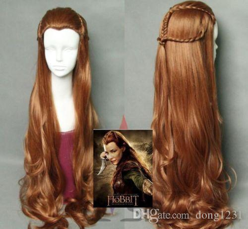 EPacket >The Hobbit Tauriel Pre-styled Brown Long Costume Cosplay ...