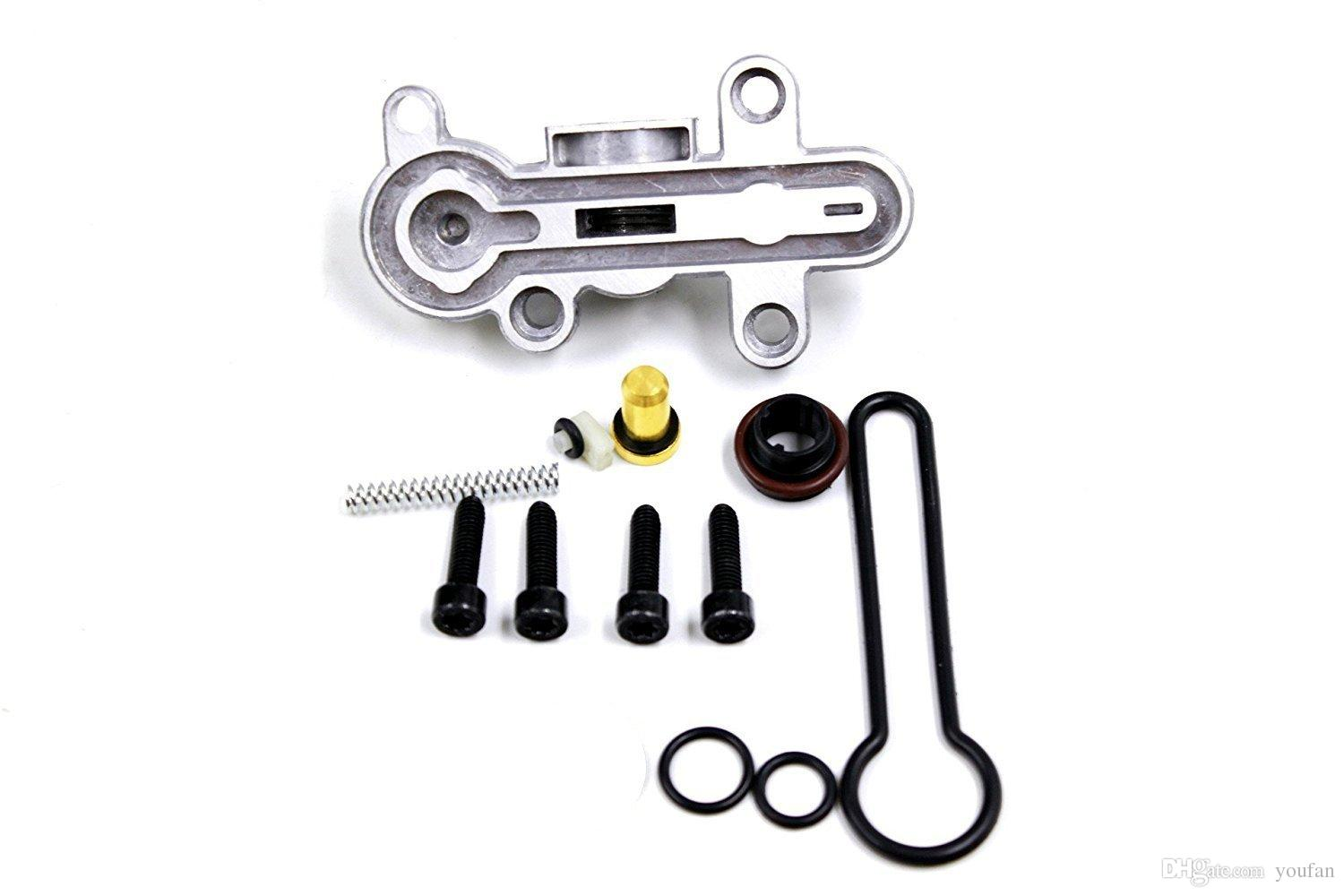 Lelecar new styling Fuel Pressure Regulator Upgraded repair Kit for Ford  F-super duty truck(2003-2007) with 60 L PowerStroke diesel engine