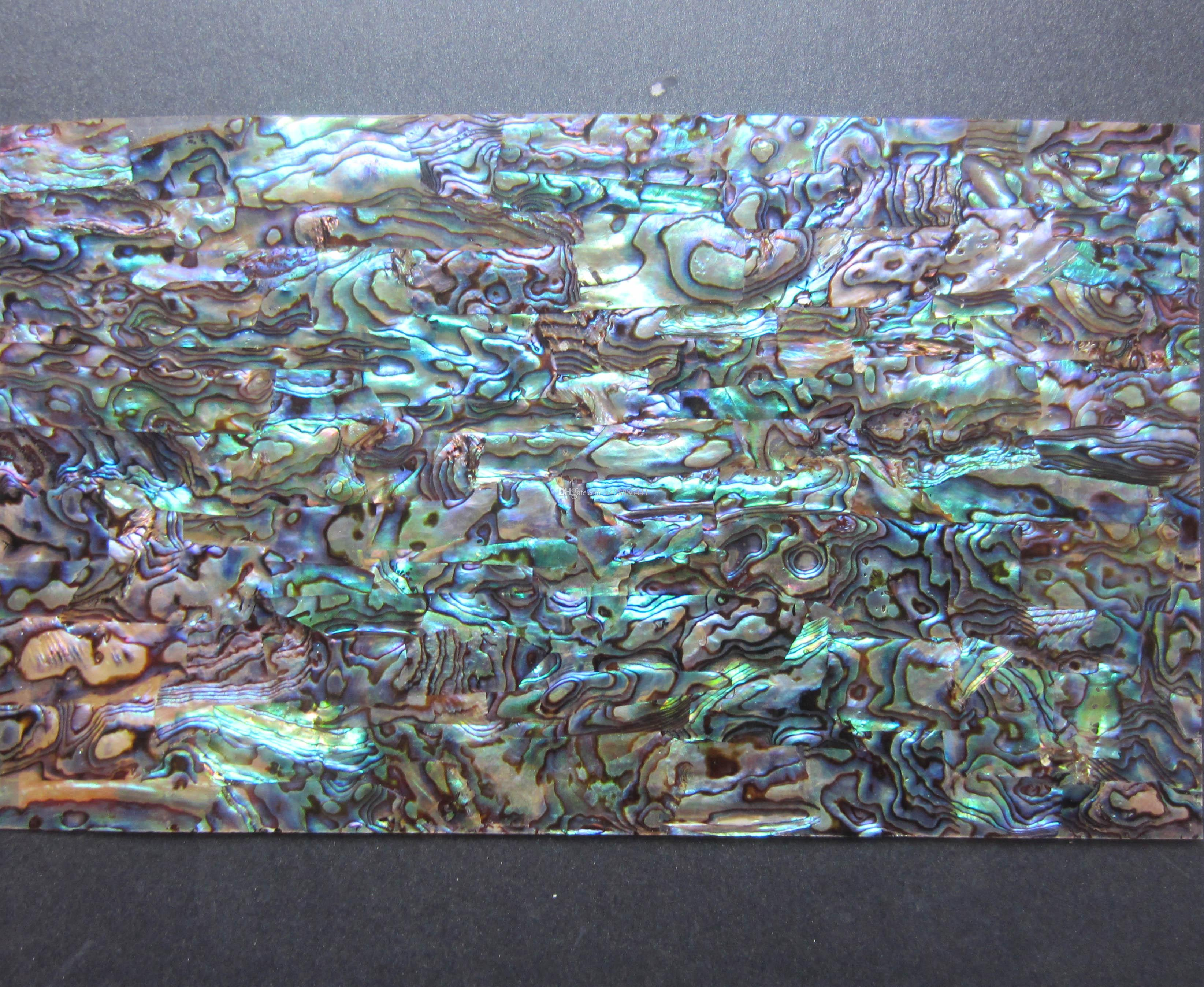 Top Grade Green Paua /Abalone Sheet; Shell Laminate;shell Paper Furniture  Inlay Guitar Accessories;140*240 Mm 0.2 Mm Thick, Abalone Sheet Online With  ...
