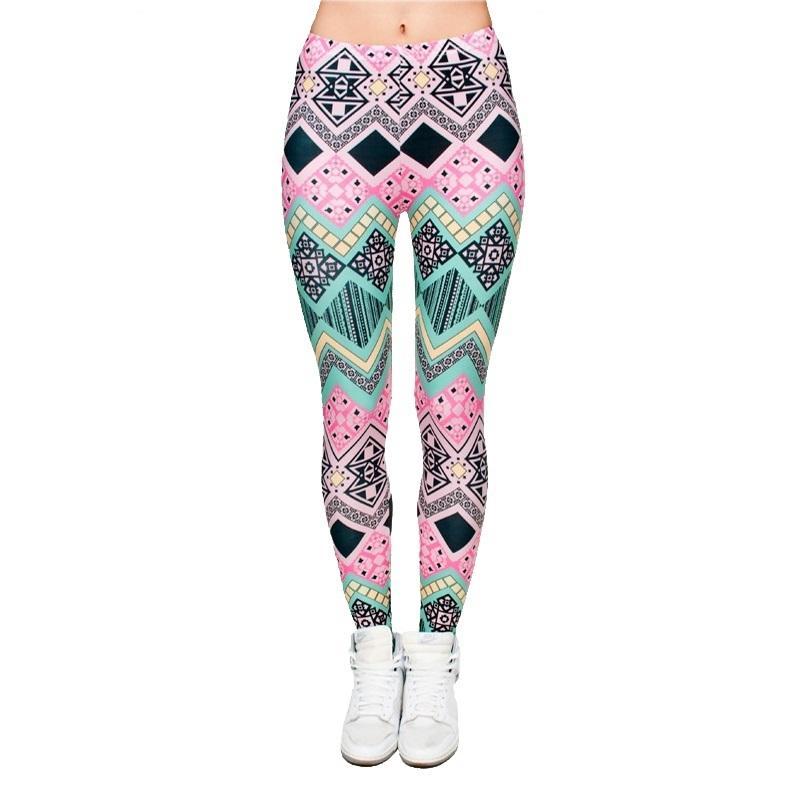 Leggings 3D de la mode graphique pleine impression fille maigre pantalon extensible pour femmes ajustement serré élastique mince Sprots Fitness crayon pantalon PDDK5 RF