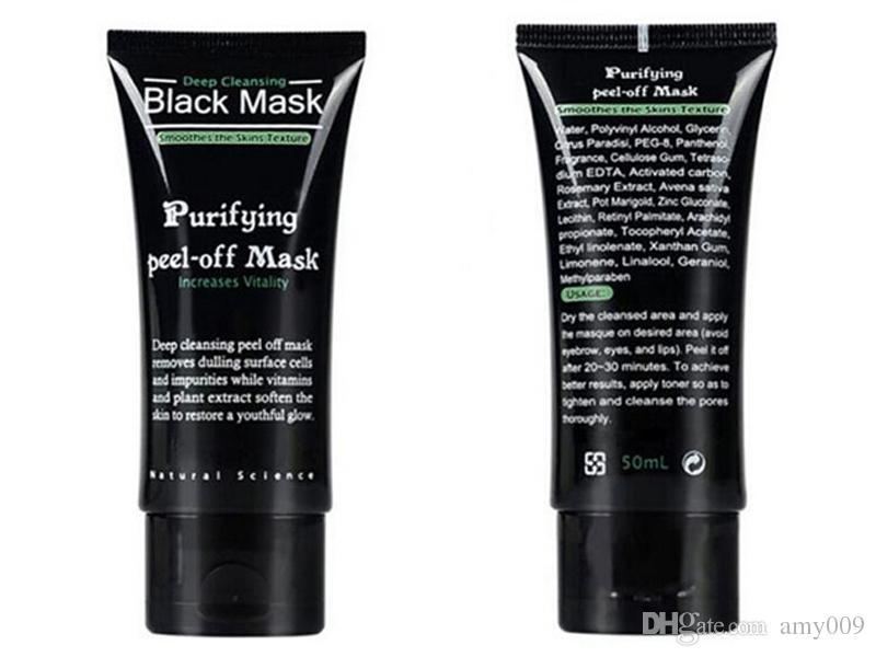 retail Shills Peel-off face Masks Deep Cleansing Black MASK 50ML Blackhead Facial Mask Pore Cleaner Dyy daub mask purifying Matte