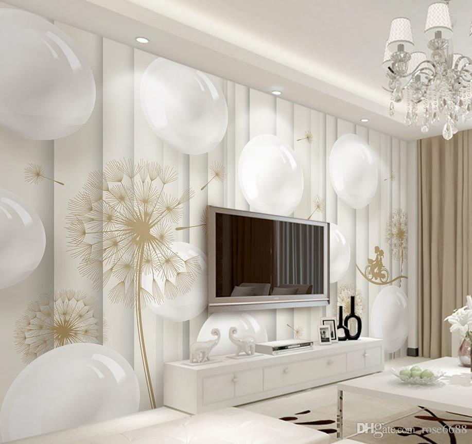 Contemporary living room wallpaper -  Contemporary Picture Living Room 3d Wallpaper