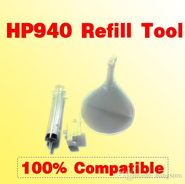 940 refill tool printhead cleaning kit compatible for HP 18 70 72 80 81 83  88 89 90 91 940 941 k8600