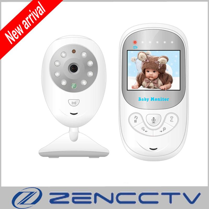 "2.4"" Portable LCD Baby Monitor Digital Camera IR Night Vision 2 Way Talk Lullabies Temperature Monitoring Nanny Babysitter"