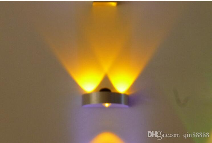 Acquista lampada da parete interni 3w led ac110v 220v camera da
