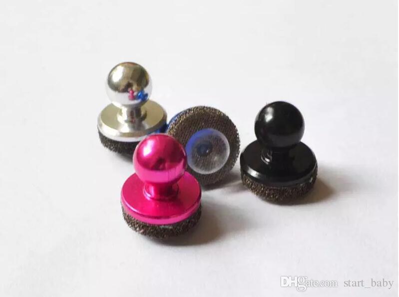Nuevo Mini controlador de juego táctil lechón Mini joystick para iPhone iPad touch o dispositivo Android teléfono móvil lechón roker con paquete minorista