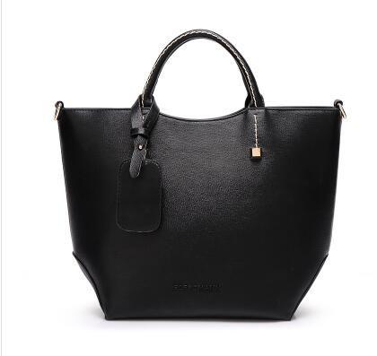 5f297a3ab45e Fashion Brand Women Embossed Leather Handbags Womens Satchel Bags ...