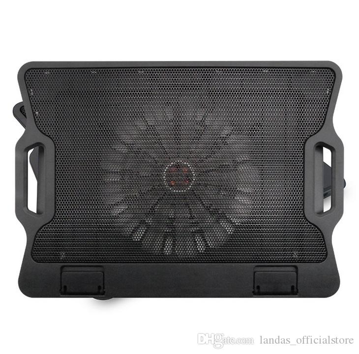 laptop 12-15.6 inch Cooling Padlaptop cooler fan with 1 cooling Fans Light Notebook Stand and Quiet Fixture for laptop