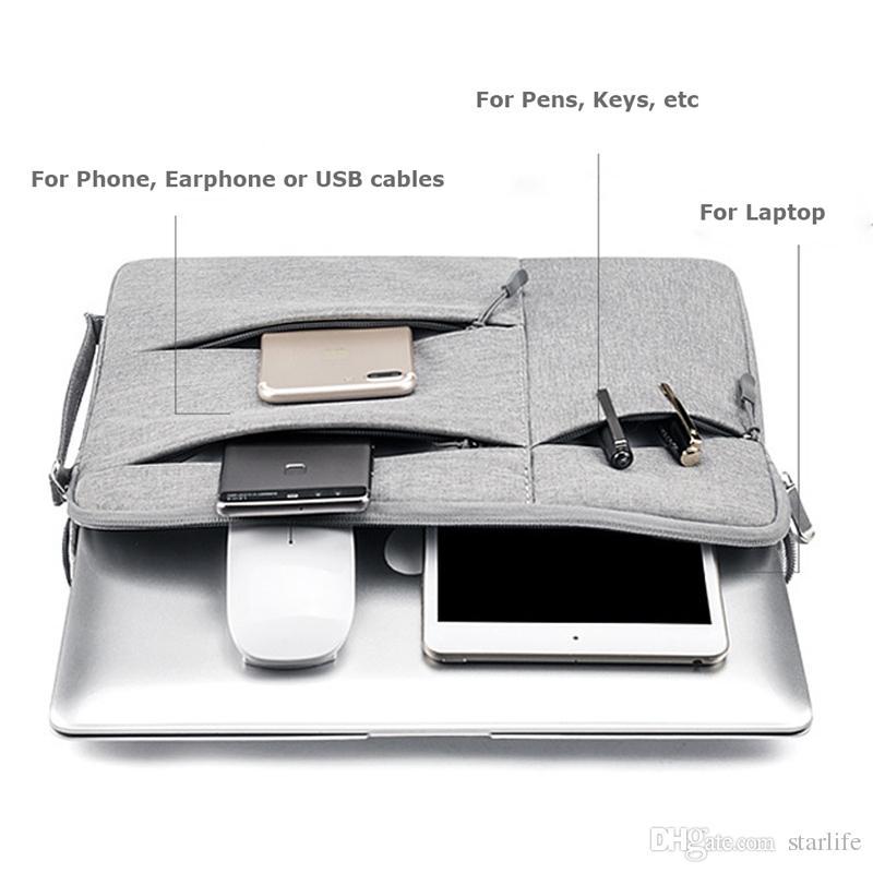 Сумка для ноутбука Сумка для ноутбука Чехол для Macbook Pro 13.3 15.6 Рукава для ноутбука 11 12 13 14 15 дюймов Женщины Мужчины Сумочка