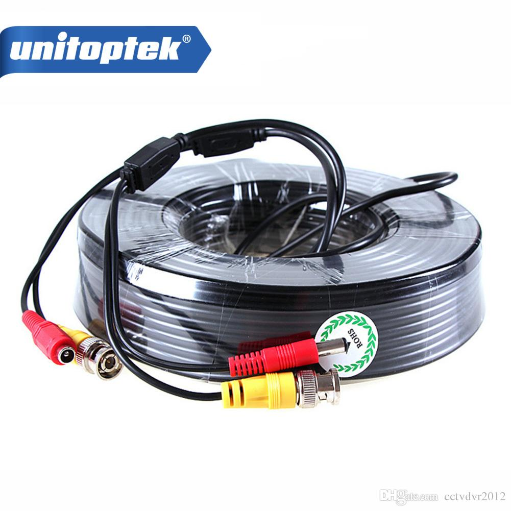 2019 50m 165ft Power Video Cctv Bnc Security Camera Cable