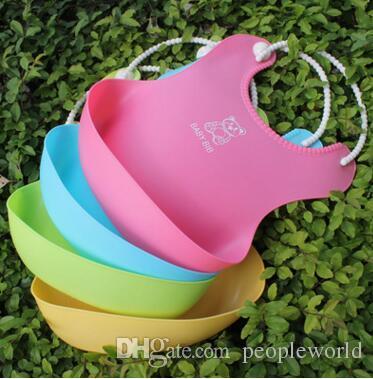 New Baby Infants Kids Cute Bibs Lunch Bibs Newborn Children Waterproof Towel Washable Feeding Silicone Burp
