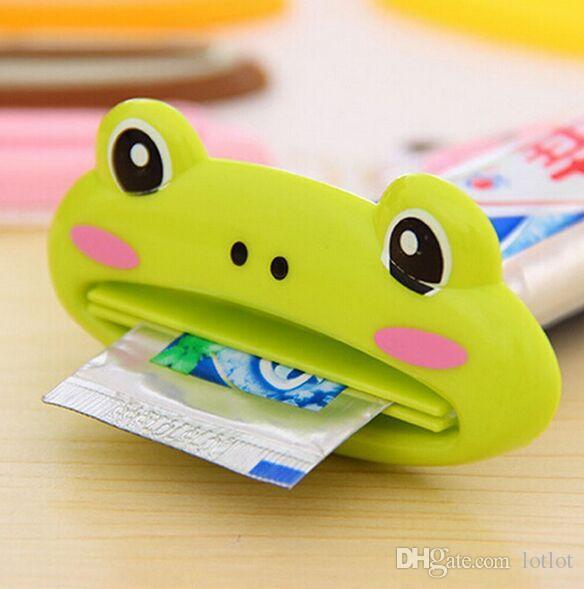 Ferramenta de squeezer de creme dental de tubo de desenho de estilo casual Esterilizador de cosmético facial Handheld squeezer