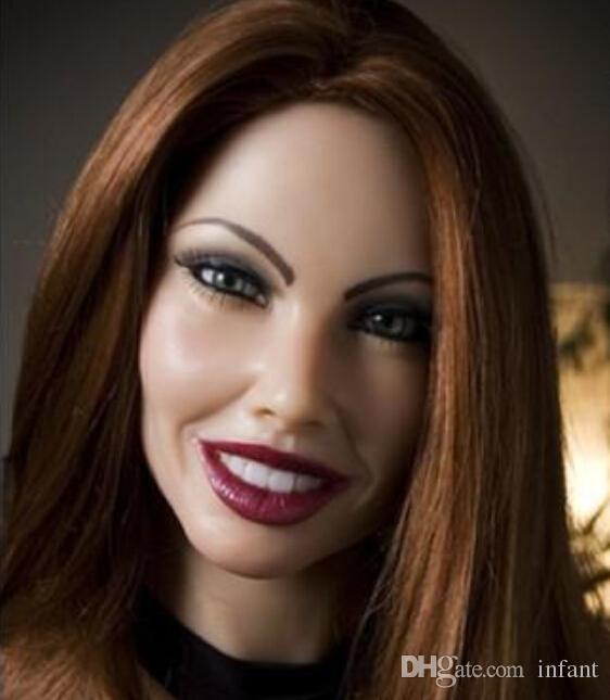 2018 Hot, Sex Doll Virgin, Dorosły Sex Zabawki Sexy Silikonowe lalki, pochwa jest stała, nowa, seksualna