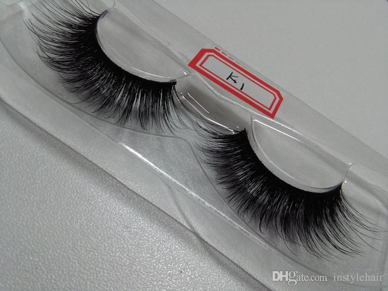 Soft premium 100% real siberian strip eyelashes 3D Silk lashes miami lashes