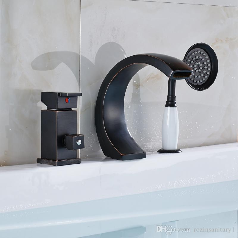 Wholesale And Retail New Oil Rubbed Bronze Bathroom Bathtub Faucet ...