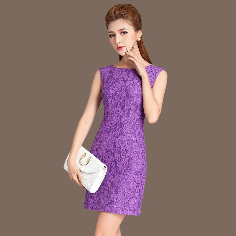 609163e6290 CY1984 New Bodycon Cocktail Party Elegant Women Sleeveless Full Zip Back  Floral Lace Dress Short Burgundy Women Dresses Hot Selling Red Special  Occasion ...