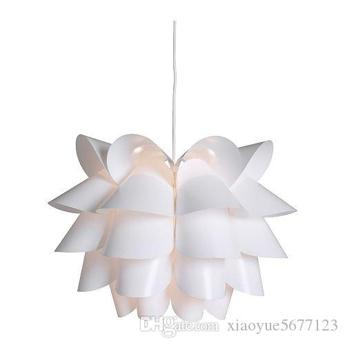 2018 fasion simple creative lotus lamp shade condole top hanging 2018 fasion simple creative lotus lamp shade condole top hanging type environmental protection jigsaw art fashionable diy lampshade from xiaoyue5677123 aloadofball Image collections