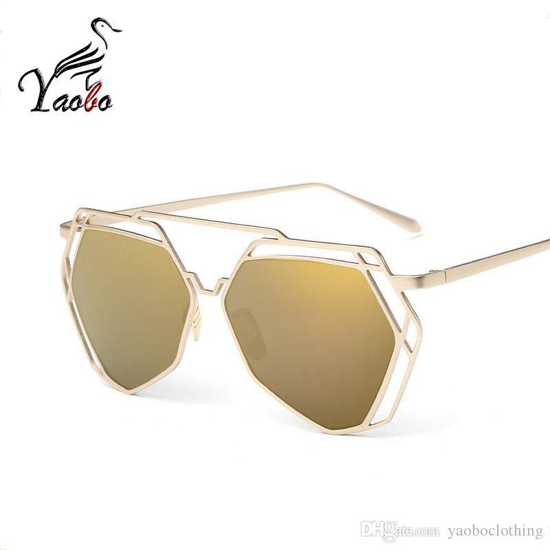 831a9643219 Yaobo Fashion Sunglasses Women Square Sun Glasses Brand Designer ...
