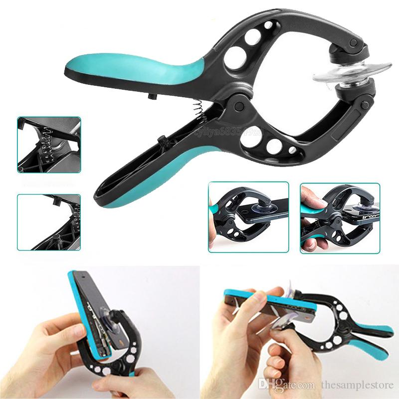 Cellphone LCD Screen Opening Tool Plier Disassembly double Suction Cups Clamp Mobile Phone Repair Tools for all type smartphone