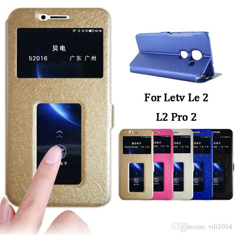 cozy fresh 04727 49355 View Window PU Leather Flip Case For Letv LeEco Le 1S 1 Pro Cool 1 Max 2  X527 / Le2 Pro X620 Pro 3 Phone Stand Cover Case Pouch