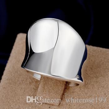 도매 - 소매 최저 가격 크리스마스 선물, 무료 배송, 새로운 925 실버 패션 반지 R52