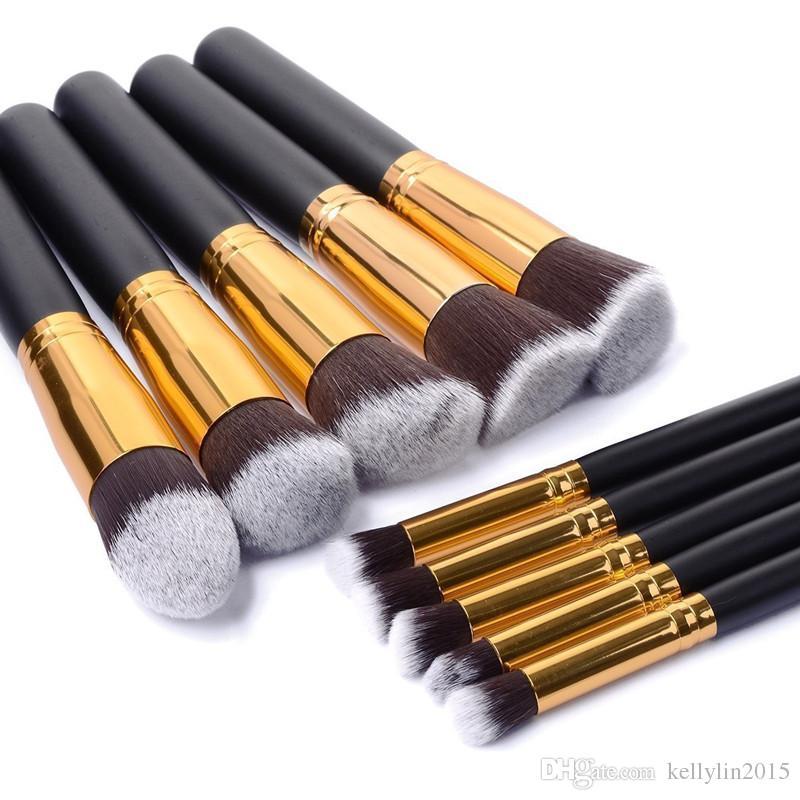 Kabuki Makeup Brushes Sets Kit Professional Best Foundation Eyeshadow Face Powder Brush Cosmetics Make Up Brushes Tools