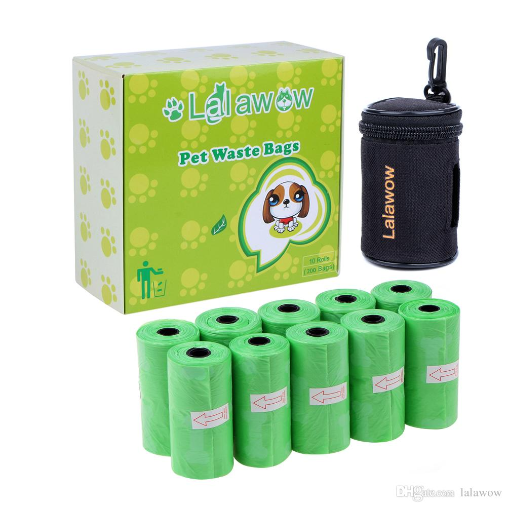Yite Dog Bags Waste Doggy 8 Rolls 120 Pet