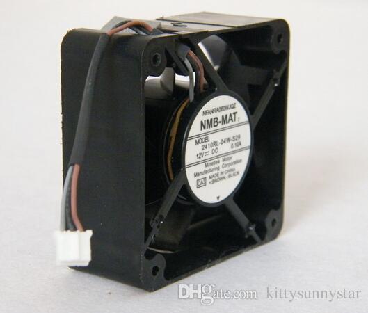 НМБ 6025 6 см 12 в 0,1 а 2410RL-04W-S29 3wire вентилятор охлаждения