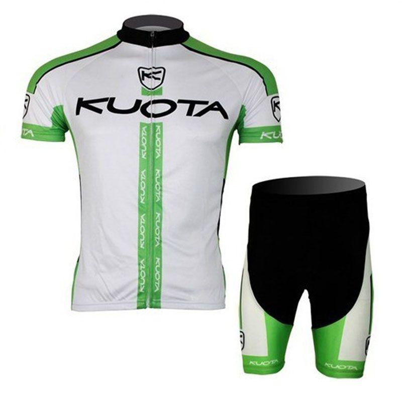 2017 kuota Ciclismo Jerseys culotte conjunto Bicicleta transpirable ropa deportiva pro ropa de ciclismo Ropa de Bicicleta de verano MTB Bike wear C2914