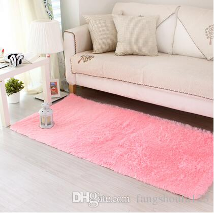 Gill Thickening Bruge Water Wash Carpet Mats Living Room Coffee ...