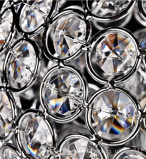 Lampes de table en cristal modernes pour la chambre à coucher, salon, étude, bureau moderne en verre cristal lampe de bureau livraison gratuite