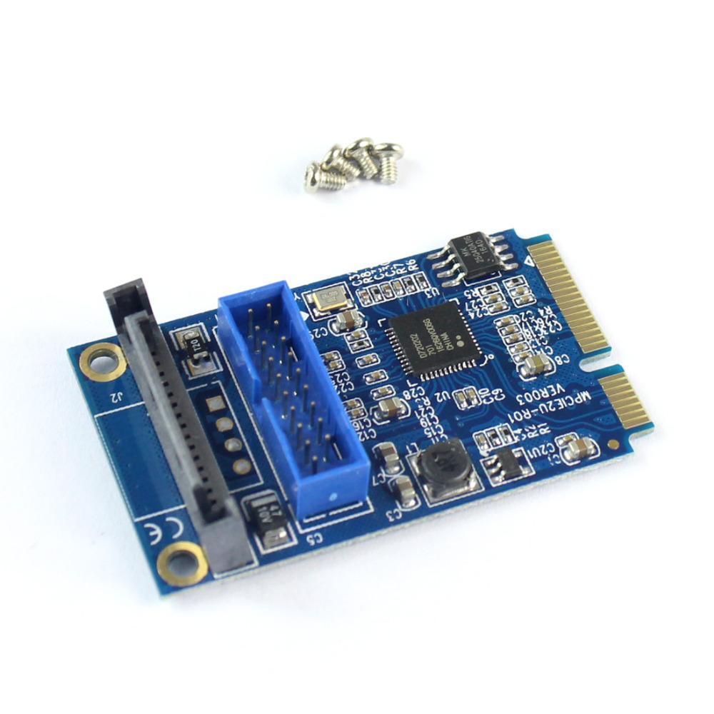 купить оптом Mini Pci E до 19 контактный Usb 30 5 гбит с двойной