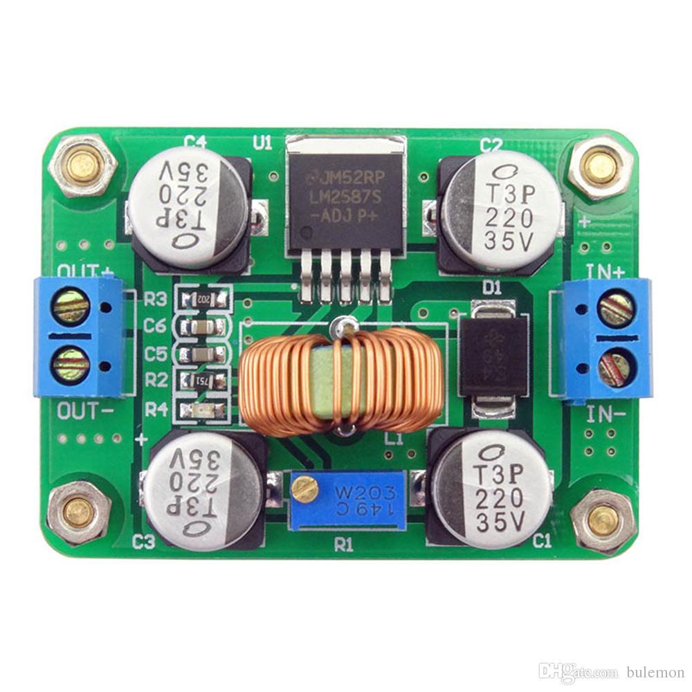 5a High Power Dc Step Up Module Boost Converter Supper Stepupconvertercircuitjpg Lm2577 With Indicator Light Online 80 Piece On