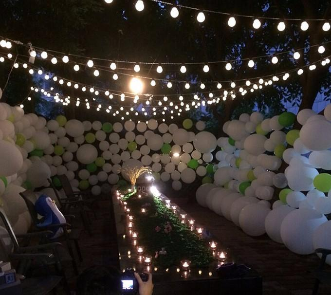 Novelty Outdoor Lights Part - 50: Cheap Wholesale Novelty Outdoor Lighting 3cm Big Size Led Ball String Lamps  Black Wire Christmas Lights Fairy Wedding Garden Pendant Garland Battery ...