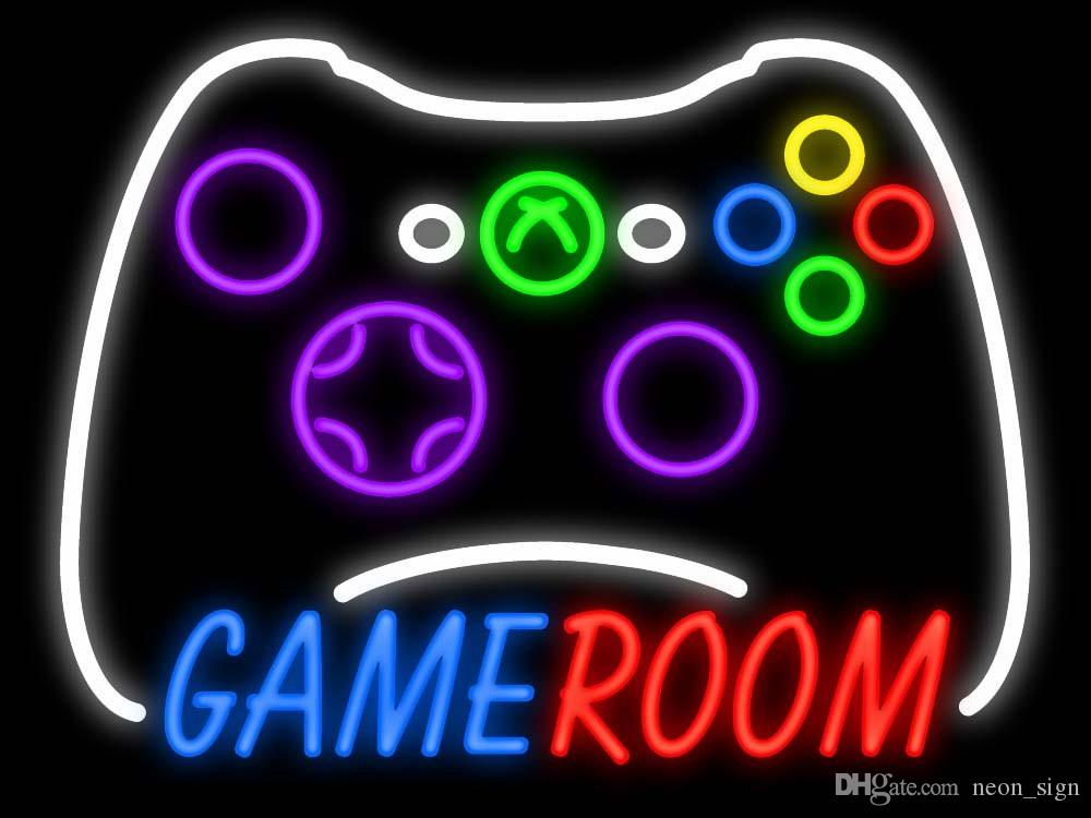 Game Room Xbox Controller Neon Sign Customized Handcrafted Real ...