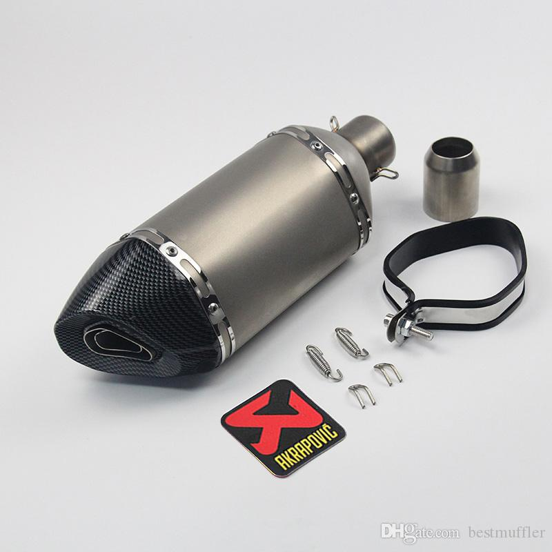 38-51mm Universal Motorcycle Exhaust Muffler Pipe With DB Killer Modified Scooter for Slip On Dirt Street Bike Motorcycle