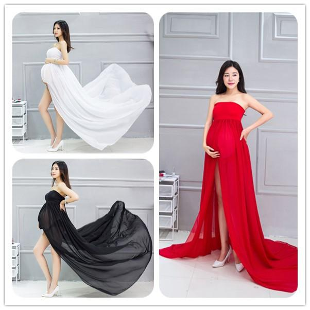 2018 Eclouds Hot Sale Elegant Maternity Photography Props Pregnancy ...