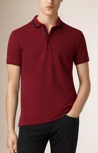 b7c5378d83c Trade 2017 British Summer Style Fashion Men Cotton Polo Shirt New ...