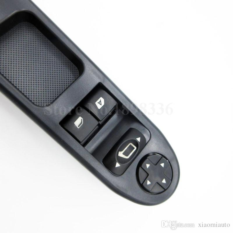 Bouton de commande de commutateur principal de fenêtre de puissance 6554.QC pour Peugeot 207 Citroen C3 Picasso 2007 2008 2009 2010 2011 2012 2013 2014