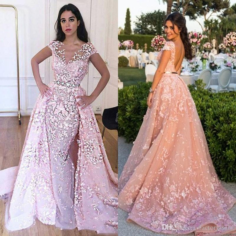 High Quality Pink Prom Party Dresses 2017