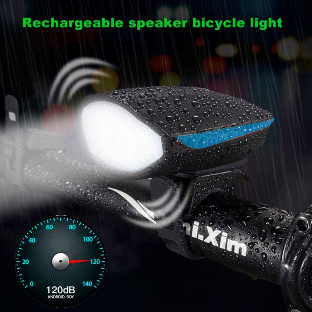 Bicycle induction smart newboler before light set usb rechargeable light