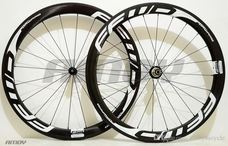 Fast Forward FFWD F5R wheels full carbon fiber road bike wheels carbon wheelset 700c rims carbon bicycle wheels clincher or tubular 50mm