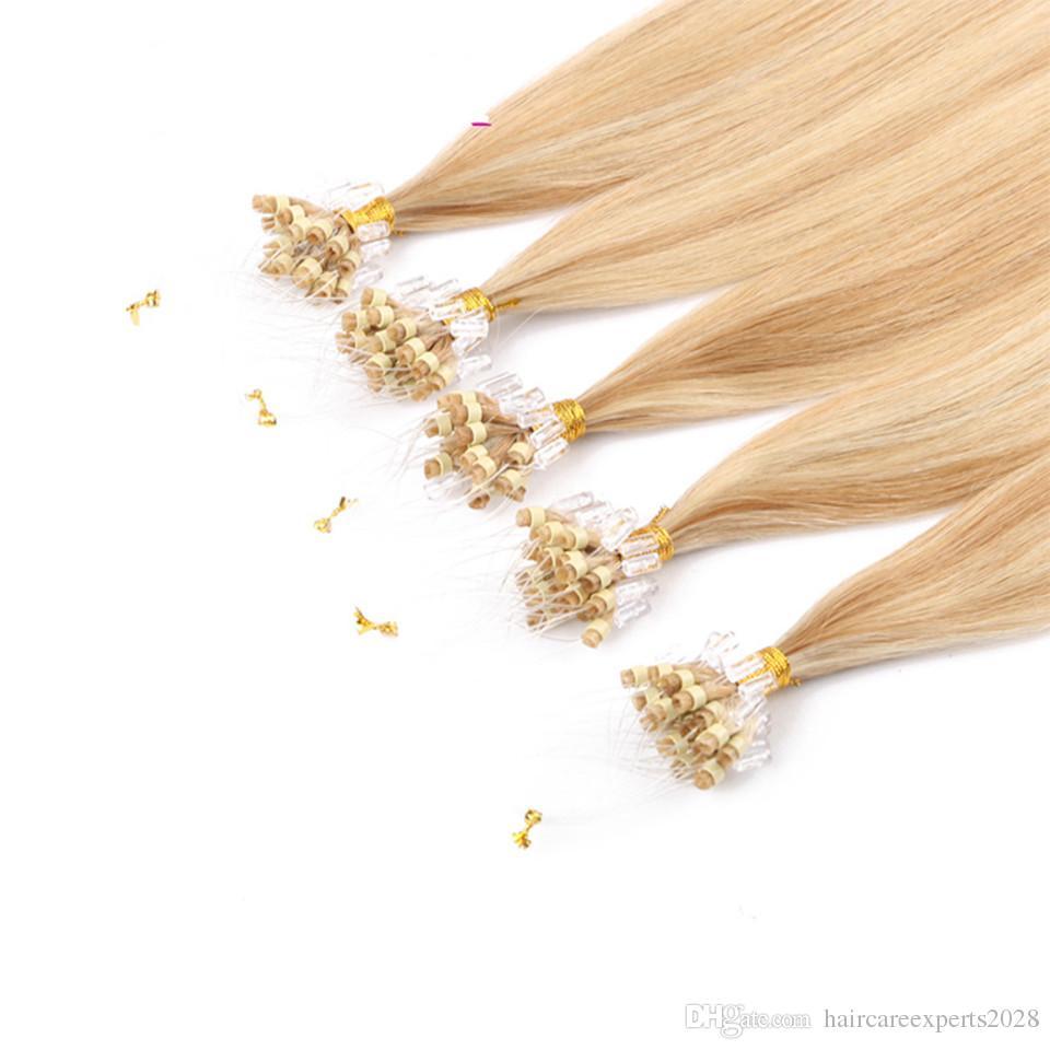 # 27/613 مايكرو حلقة الشعر ملحقات 200 فروع / الكثير 1 جرام / ثانية البرازيلي العذراء الشعر أعلى جودة مايكرو حلقة الشعر البشري ملحقات 14-28 بوصة للبيع