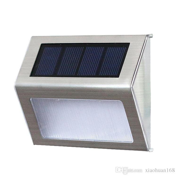 2018 solar stair lights outdoor led step lighting 2 leds stainless 2018 solar stair lights outdoor led step lighting 2 leds stainless steel for steps paths patio decks pack of 6 from xiaohuan168 3719 dhgate aloadofball Image collections