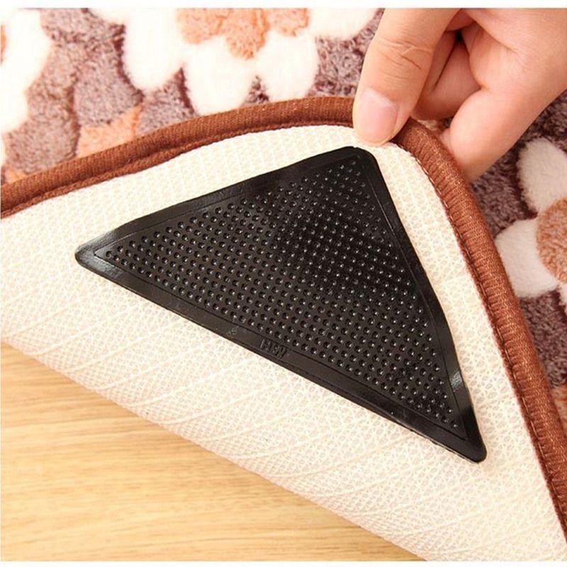 2019 wholesale pack magic non slip rug carpet mat grippers reusable