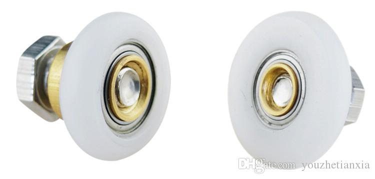 Bogen Duschraum Flaschenzug Bad Dusche Glasschiebetür Walze Haushaltsreparatur Hanging Rad Hardware Teil