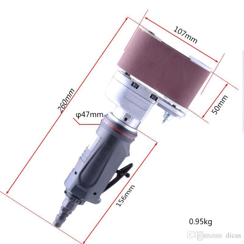 anneau circulaire forme pneumatique ponceuse ponceuse pneumatique outil de meulage ponceuse pneumatique outil de polissage léger