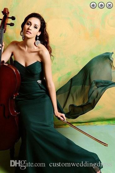 Livraison gratuite chaude 2017 nouvelle conception formelle soirée robes robe formales robe longue rouge et vert robes de soirée