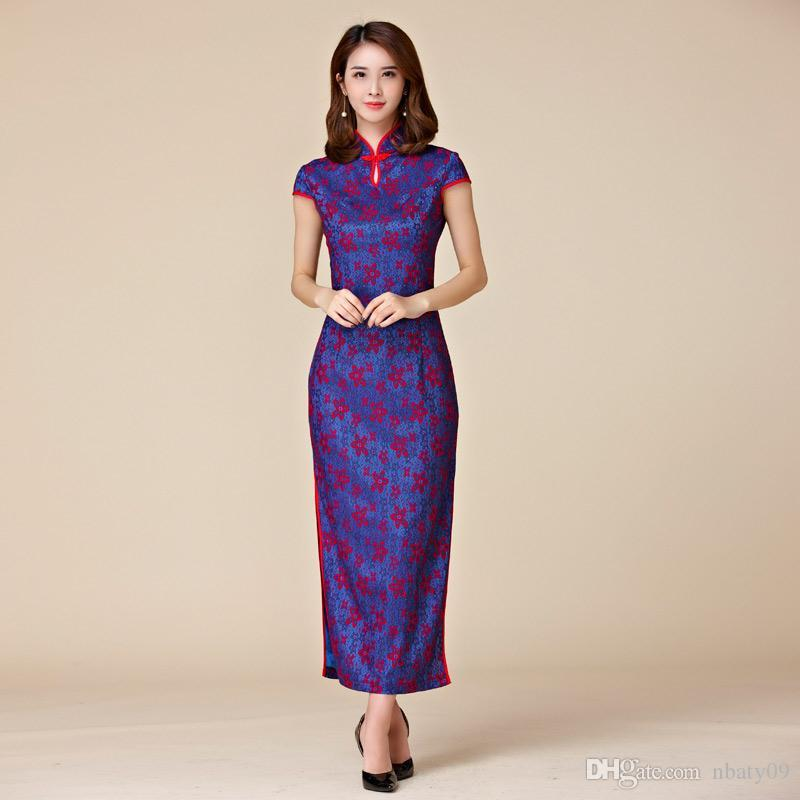 Purple Color M 3xl Plus Size Women Clothes Elegant Sheath Maxi Dress ...
